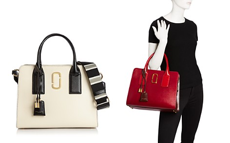 MARC JACOBS Big Shot Color Block Saffiano Leather Satchel - Bloomingdale's_2